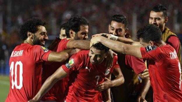 Mesir memulai Piala Afrika dengan menang tipis atas Zimbabwe