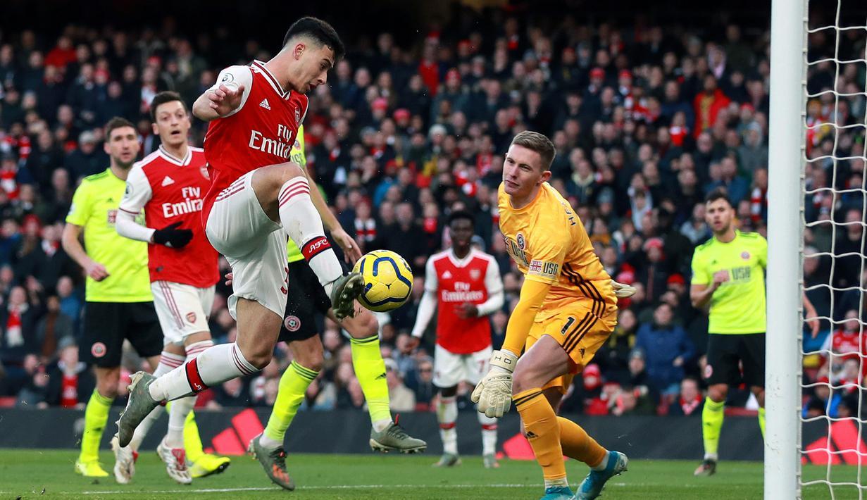 Arsenal Ditahan Imbang Sheffield United Dengan Skor 1-1